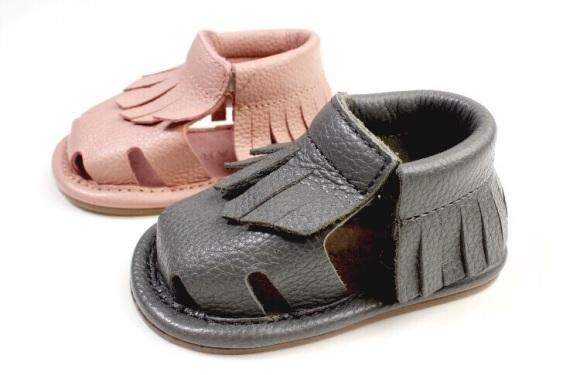 Moccs-sandals-rose-sandaler-børnesko-kidsshoes-byclara